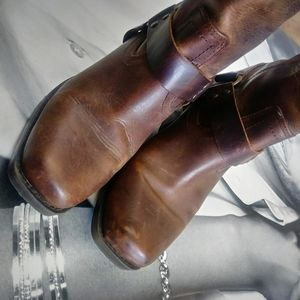 Mossimo Supply Co. Shoes - LEATHER Harness Boots